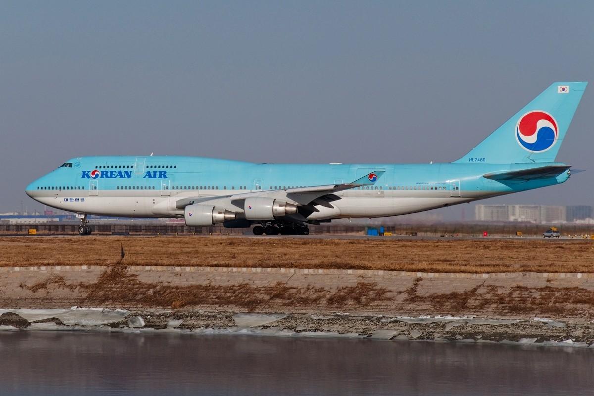 Re:【TSN】我蹭蹭骡子和克克的RP发些这一周拍的图~~冷饭先放着 BOEING 747-400 HL7480 中国天津滨海机场