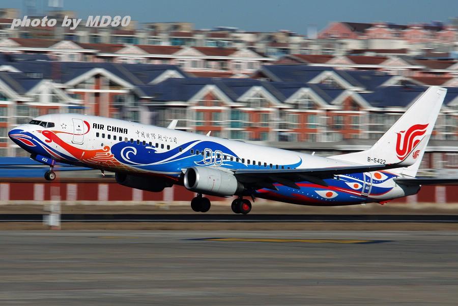 Re:[原创]暴人--就要完全彻底![CARAOC十周年北京聚会印象] BOEING 737-800 B-5422 中国大连周水子机场