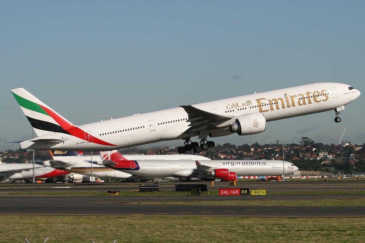 Re:【CASG】2009最后一贴,偶也发几张图祝大家圣诞快乐&新年快乐! BOEING 777-300ER A6-EBO Australia SYDNEY KINGSFORD