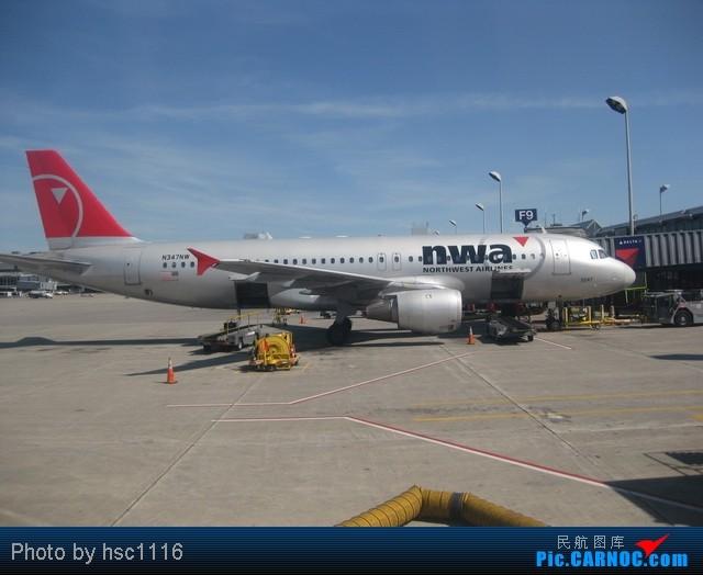 Re:[原创]八月开启大学征程 AIRBUS A320 N374NW United States MINNEAPOLIS INTL