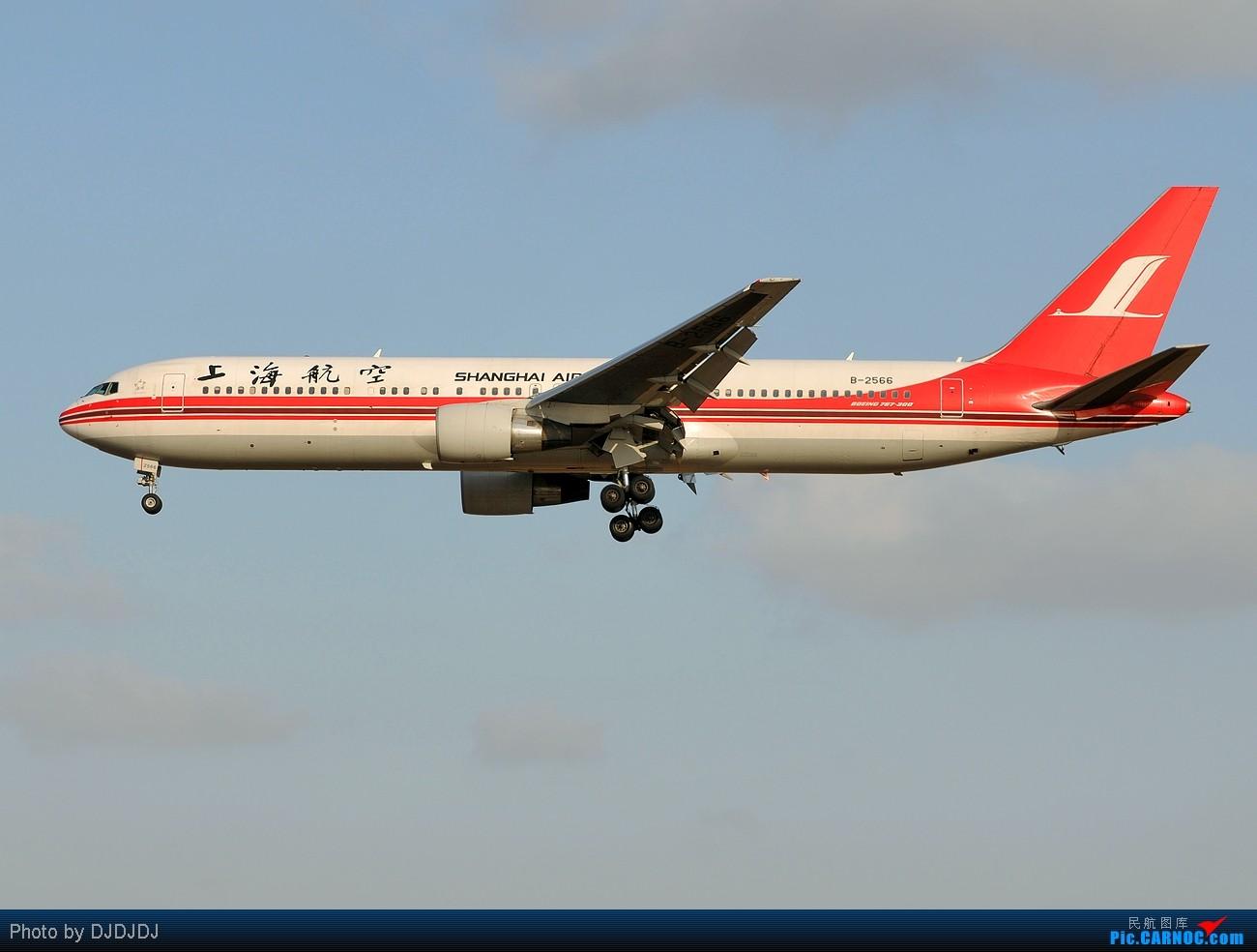 Re:【BLDDQ】需晴日,去浦东,看上航,尽妖娆!!! BOEING 767-300 B-2566 中国上海浦东机场
