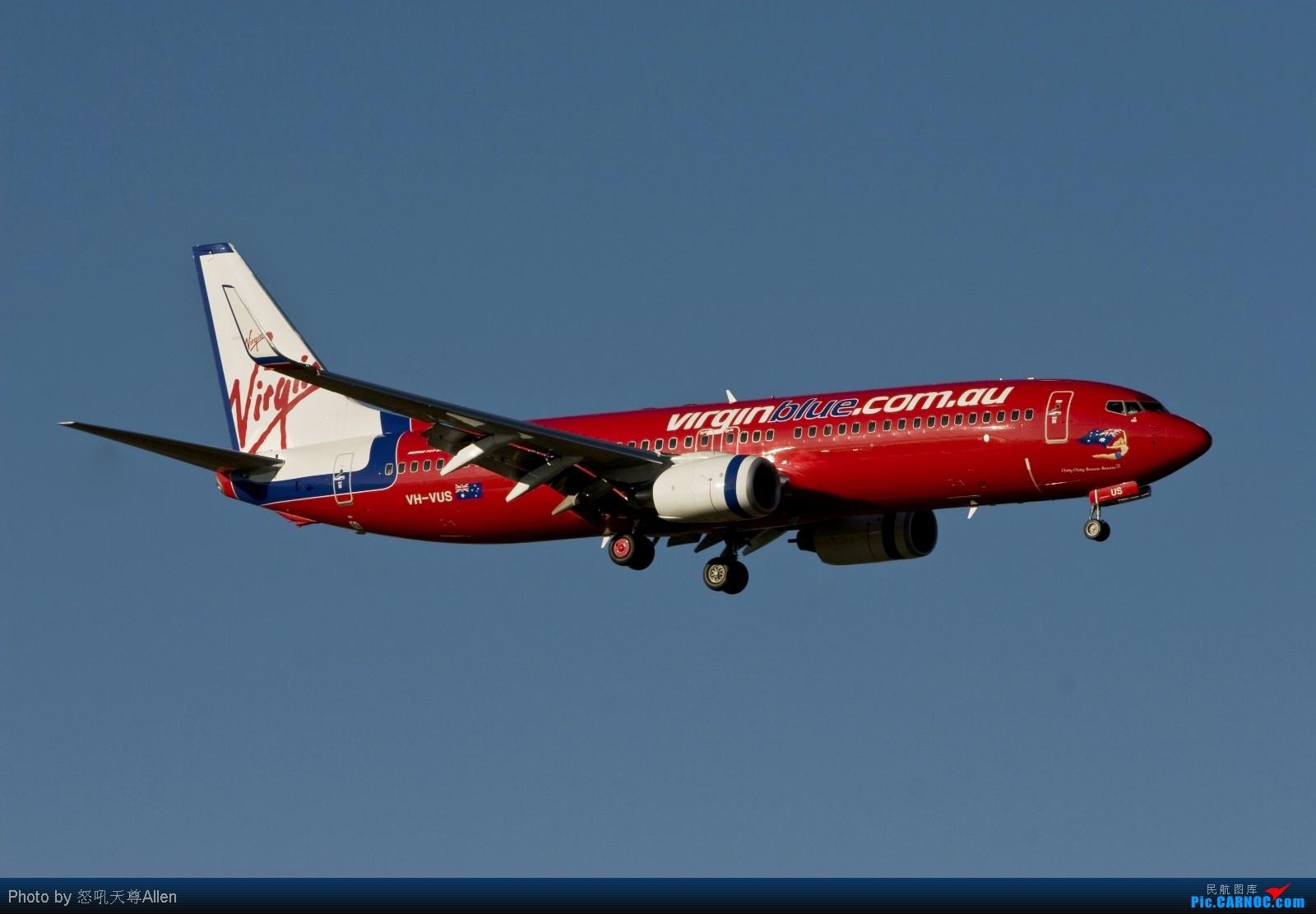 Re:【墨尔本打飞机】第二集: 2009年最后一天 老天不仅赏了我一个好天气 还赏了我很多好飞机!(申请入库) BOEING 737-800 VH-VUS Australia MELBOURNE TULAMARINE