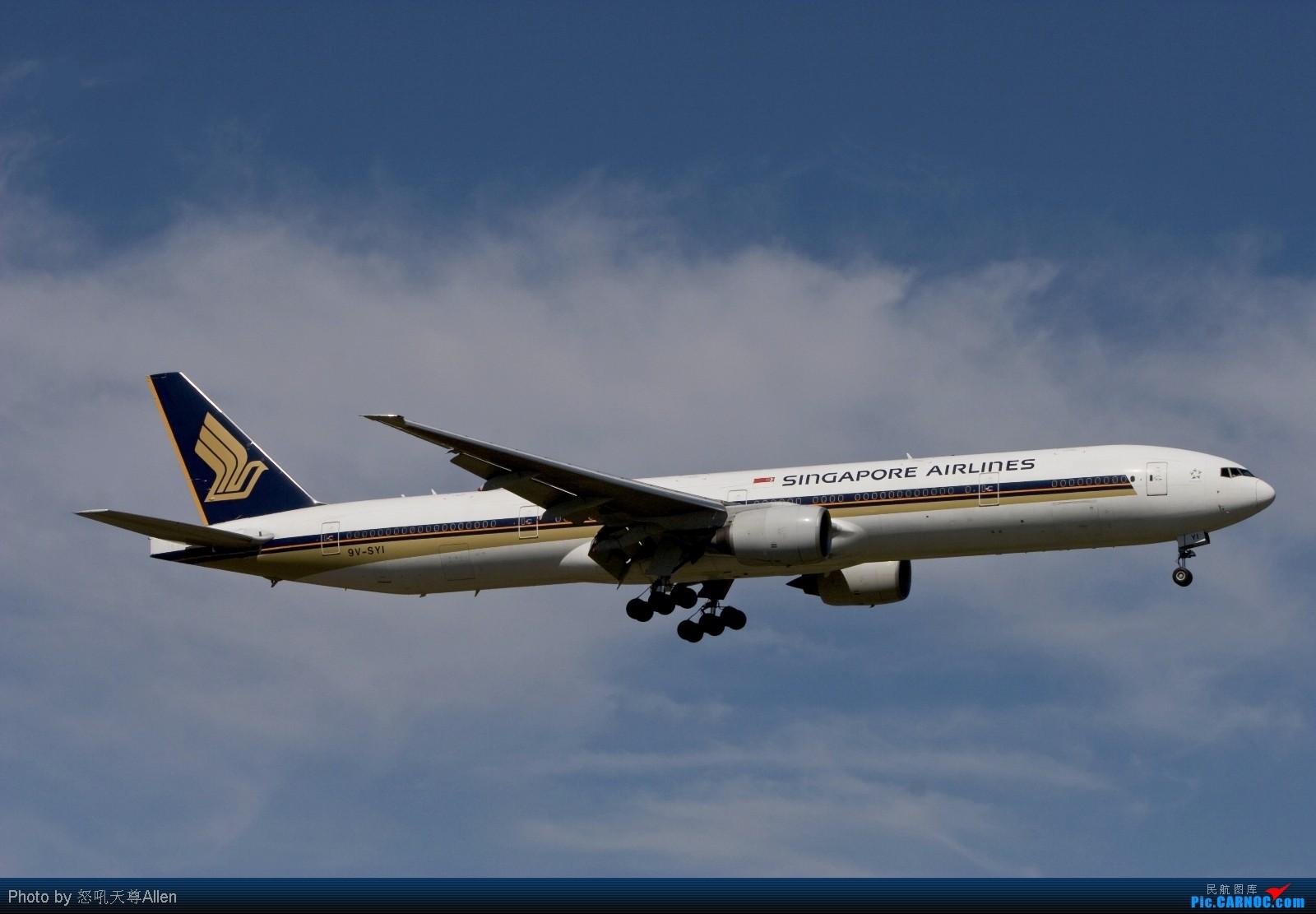 Re:【墨尔本打飞机】第二集: 2009年最后一天 老天不仅赏了我一个好天气 还赏了我很多好飞机!(申请入库) BOEING 777-300ER 9V-SYI Australia MELBOURNE TULAMARINE