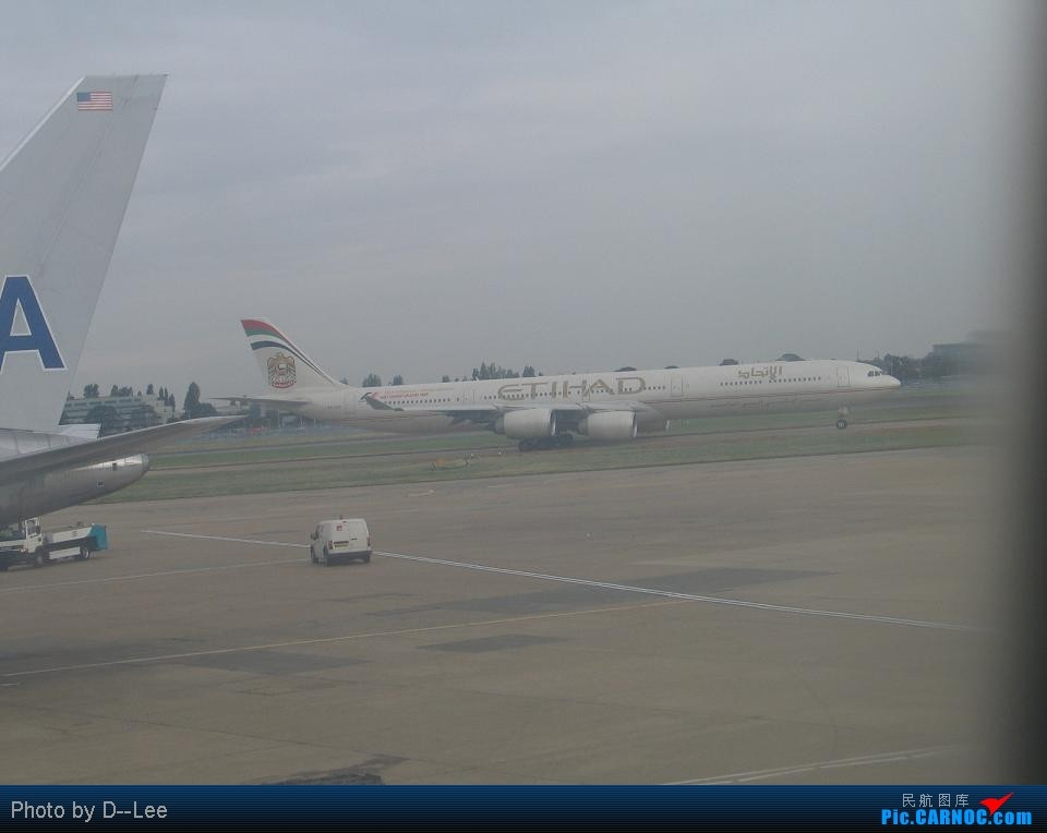 Re:[原创]新年来请大家吃些陈年老味,新年快乐啊各位 AIRBUS A340-600 B- Great Britain (UK) LONDON HEATHROW