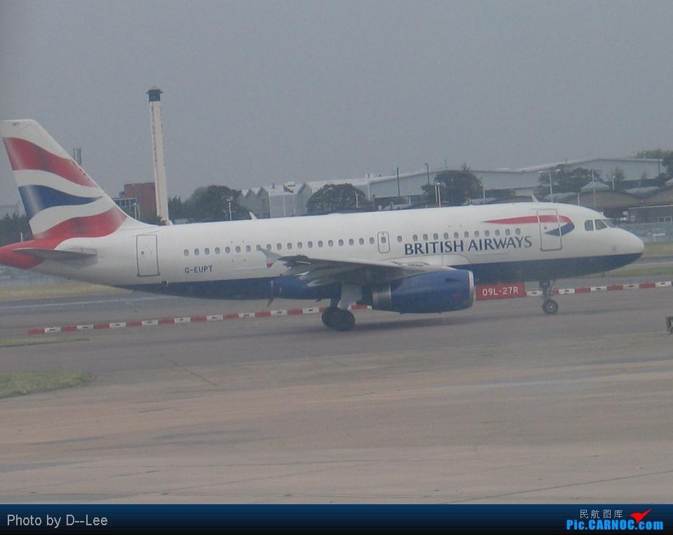 Re:[原创]新年来请大家吃些陈年老味,新年快乐啊各位 AIRBUS A319 B- Great Britain (UK) LONDON HEATHROW