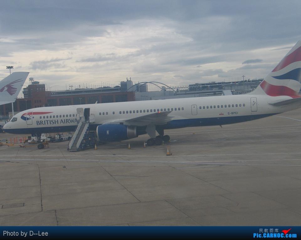 Re:[原创]新年来请大家吃些陈年老味,新年快乐啊各位 BOEING 757-200 B- Great Britain (UK) LONDON HEATHROW