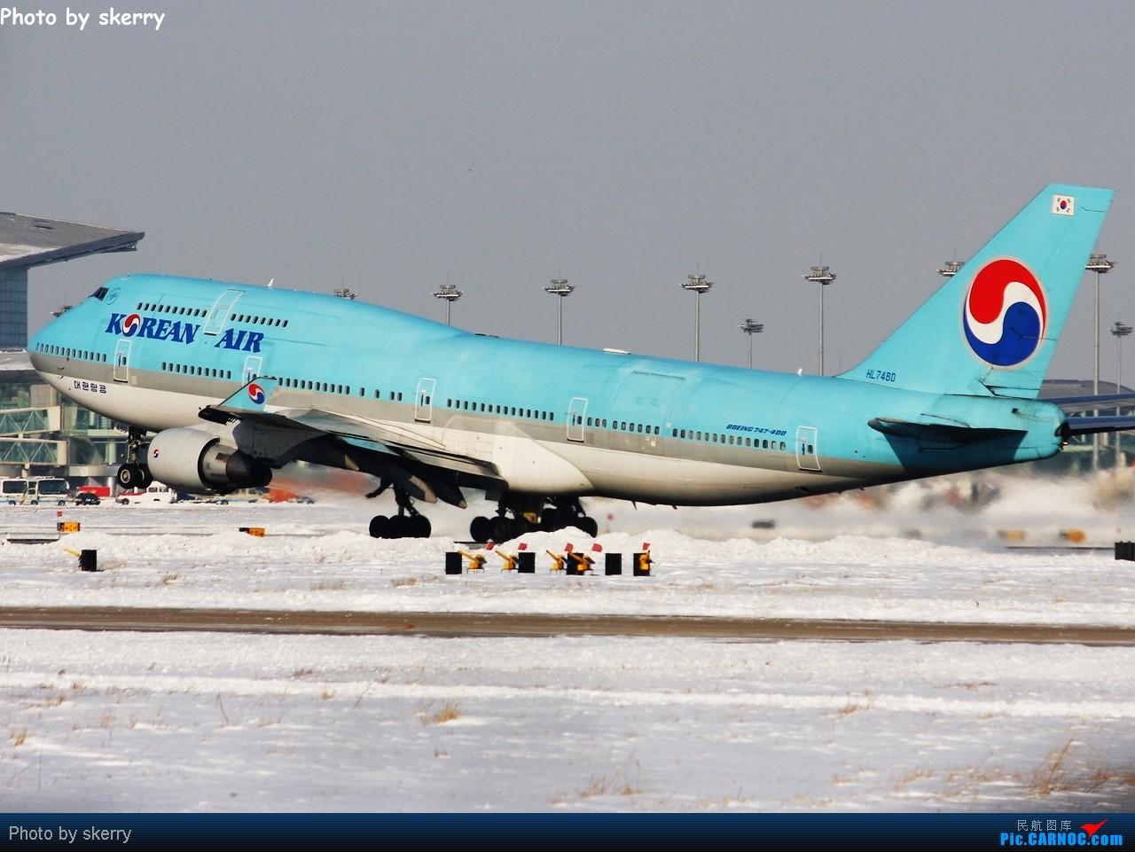 Re:***【TSN飞友会】我的2010,以白雪开始!*** BOEING 747-400 HL7480 中国天津滨海机场