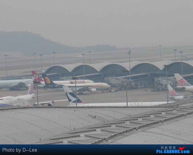 [原创]第一个周末,发发HKG地面的    中国香港赤鱲角国际机场