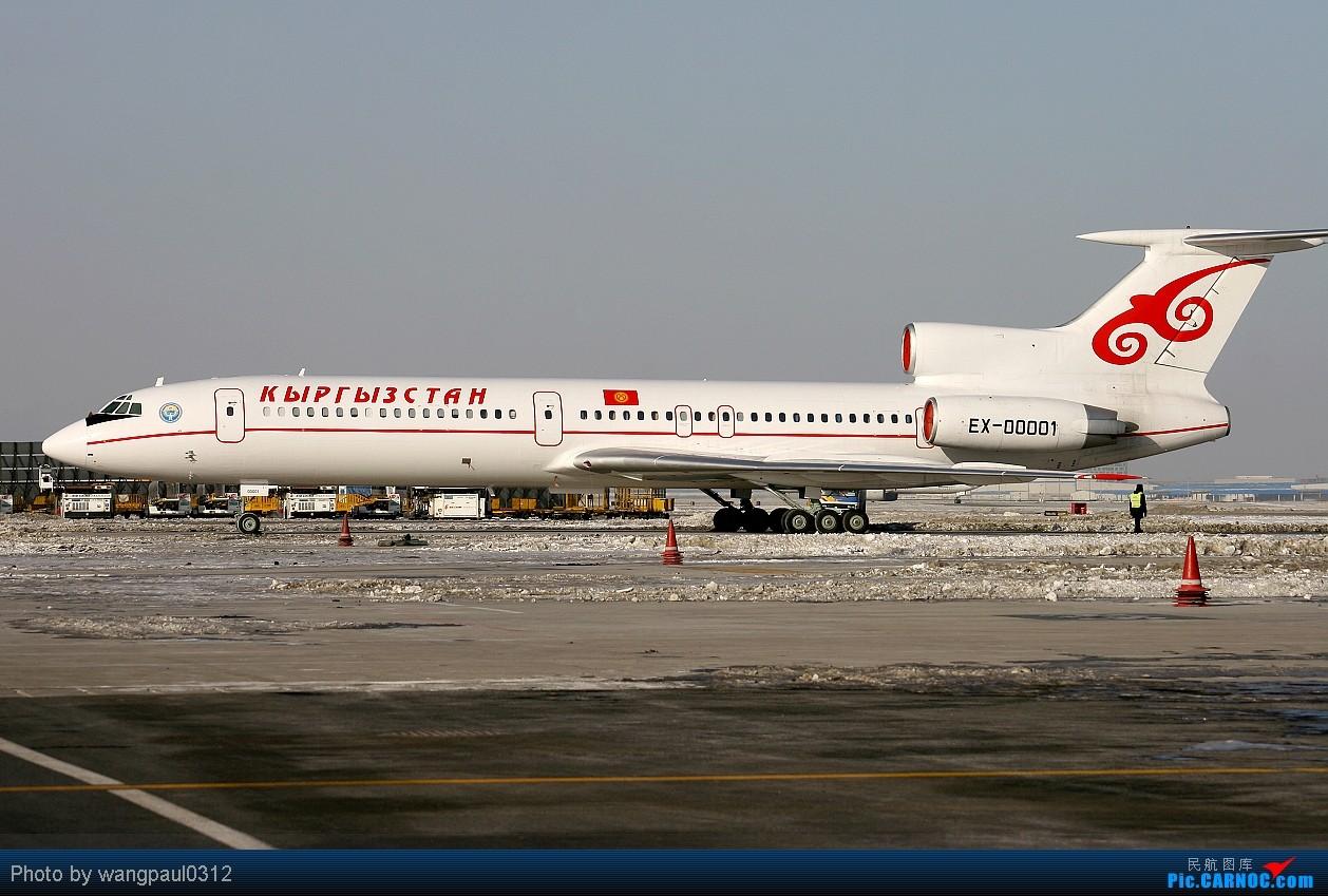 [原创]彩绘-图波列夫-天合-达索猎鹰等等,包罗万象 TUPOLEV TU-154M EX-00001 北京首都国际机场