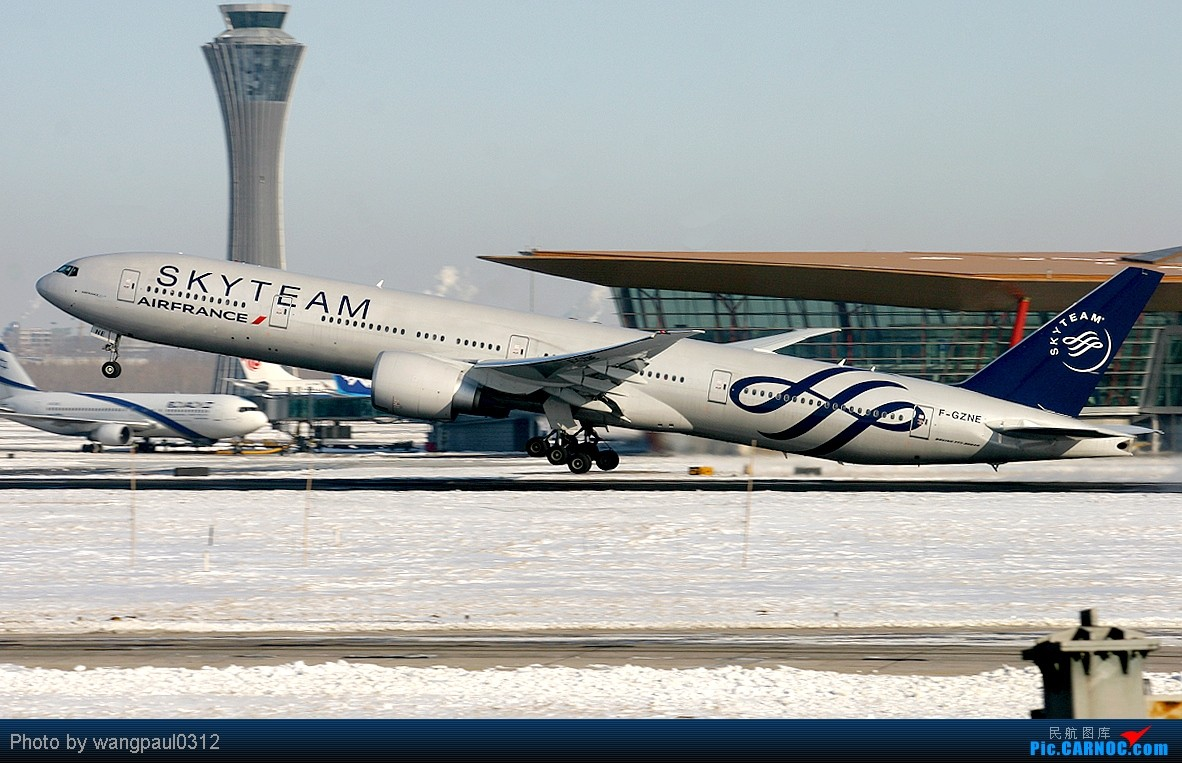Re:[原创]彩绘-图波列夫-天合-达索猎鹰等等,包罗万象 BOEING 777-328/ER F-GZNE 中国北京首都机场