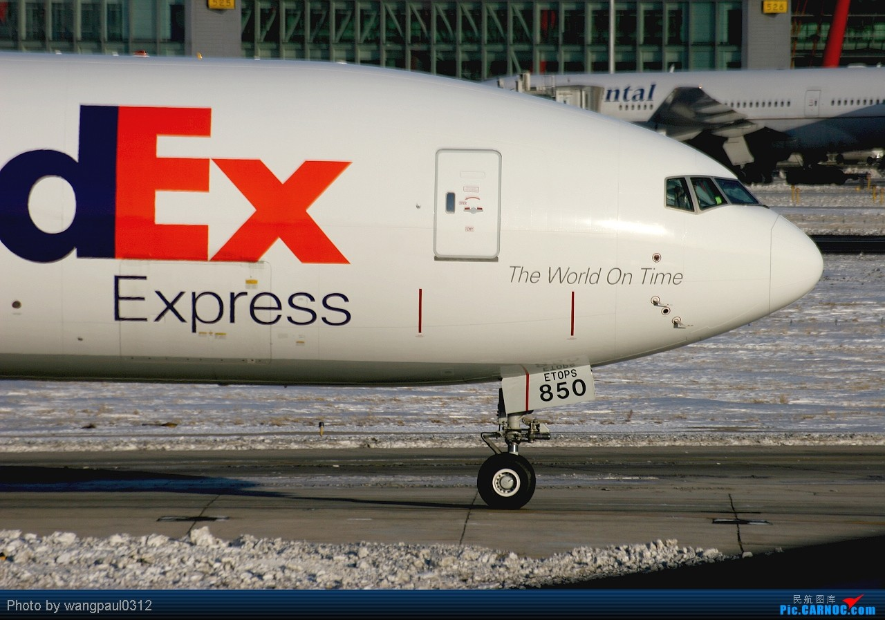 Re:[原创]发几个不常见的--USAF BBJ--FEDEX77F--UZBEKSTAN757 BOEING 777-FS2 N850FD 北京首都国际机场