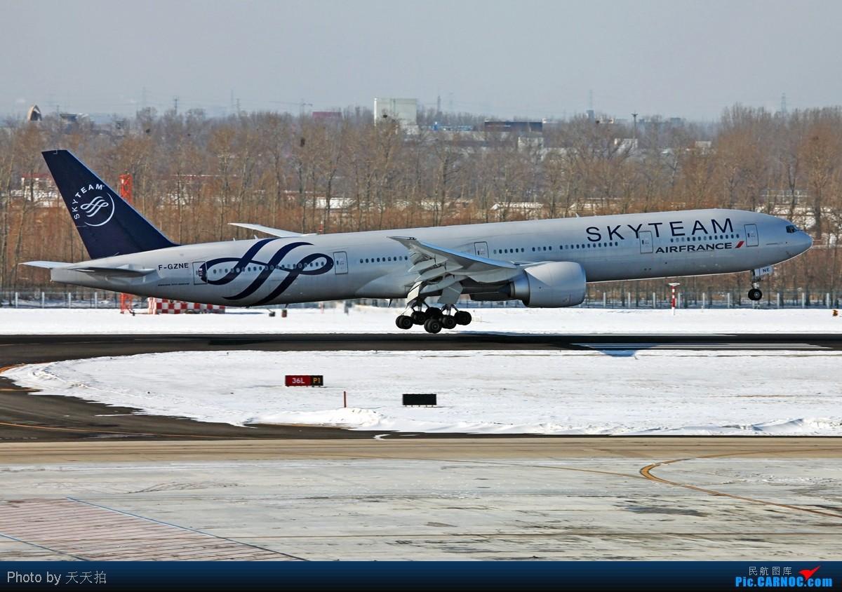Re:法航天合联盟777-300雪后到京 BOEING 777-300 F-GZNE 中国北京首都机场