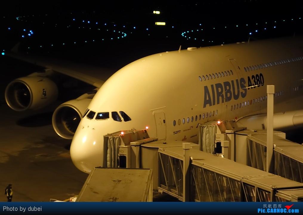 [原创]夜拍380,空客380造访苏黎世做测试飞行 AIRBUS A380 F-WWDD Switzerland ZURICH