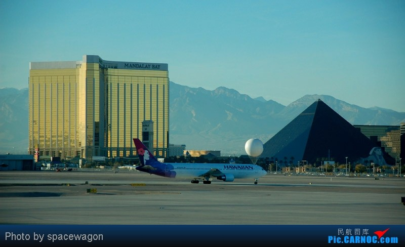 Re:[原创]{瓦罐出品}09圣诞十日疯狂泛美机场游(二):SFO飞行博物馆、LAS以及旧金山漫步 BOEING 767-300  LAS