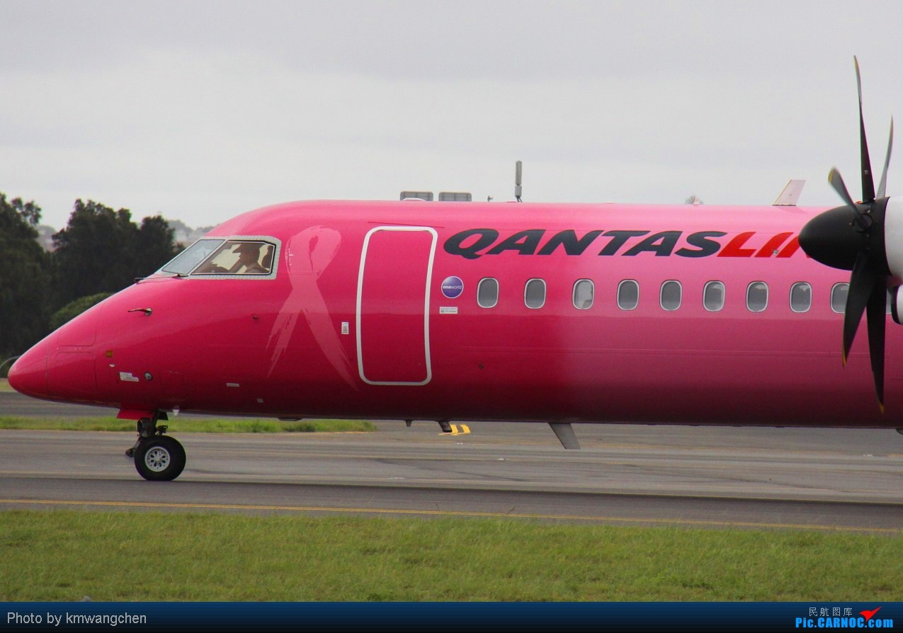 Re:【SYDWC】Q400电风扇一次看个够 DE HAVILLAN CANADA DHC-8-400 VH-QOH Australia SYDNEY KINGSFORD
