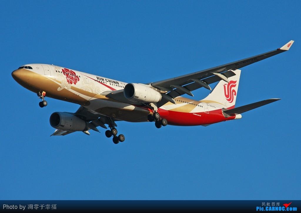 [原创]【BLDDQ】将太极旗踩在脚下--今儿的国足还算是爷们!! AIRBUS A330-200 B-6075 中国北京首都机场