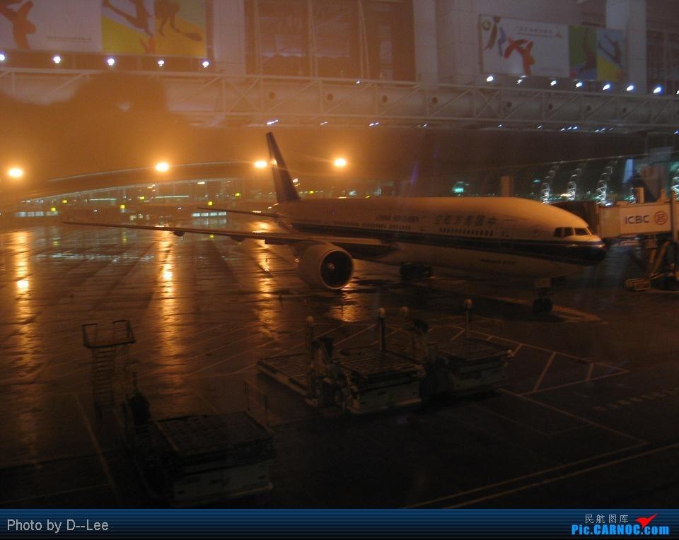 Re:[原创]华东游记之(出发)飞向杭州CAN--HGH远机位之旅 BOEING777-200LR B- 中国广州白云机场