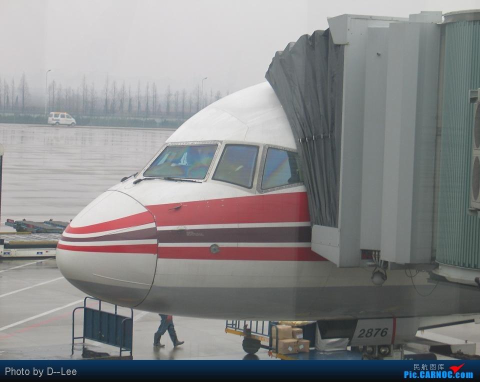 Re:[原创]华东游记之(出发)飞向杭州CAN--HGH远机位之旅 BOEING757-200 B-2876 中国广州白云机场 中国杭州萧山机场