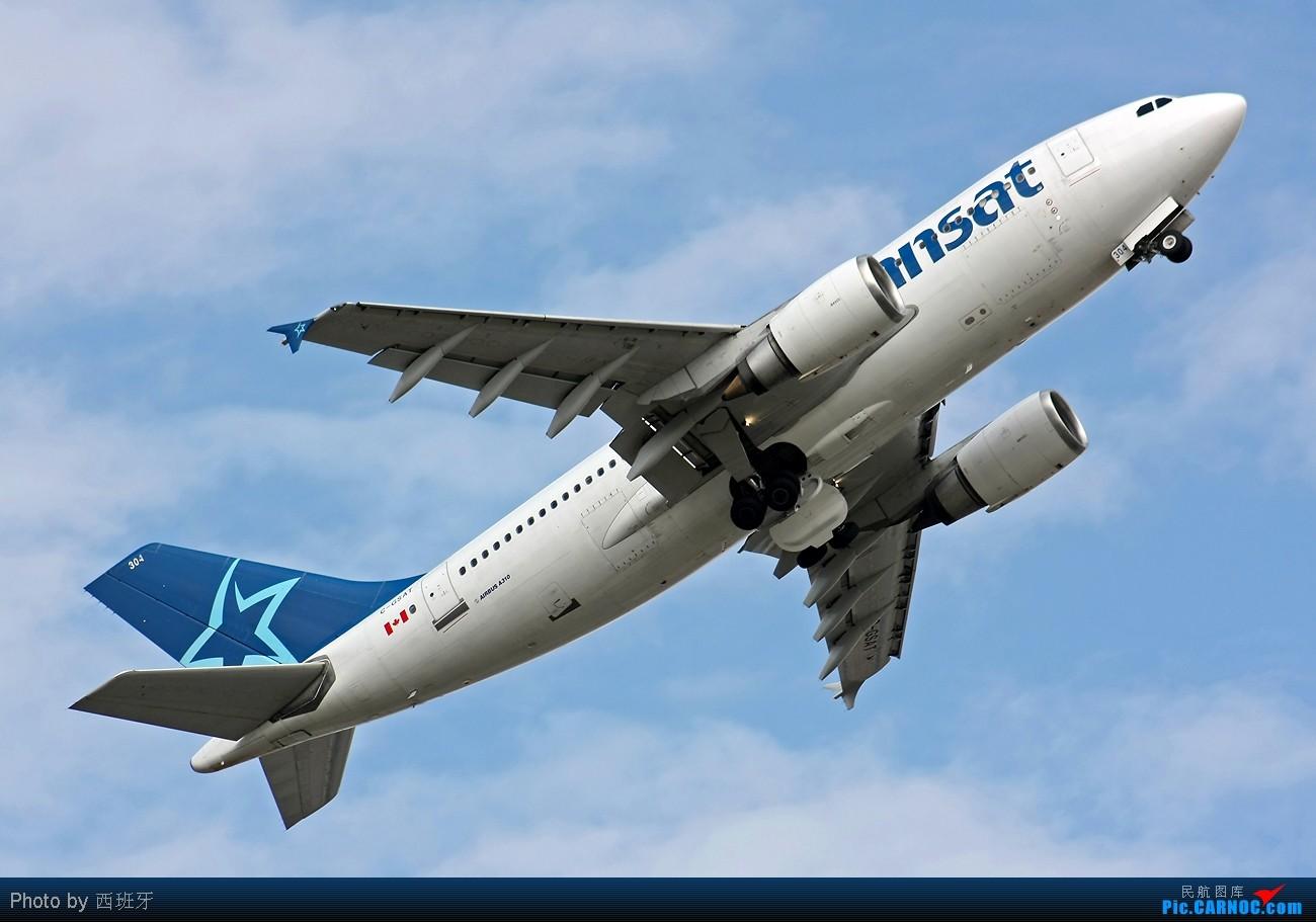 Re:快过新年了,来自加拿大AIR TRANSAT-A310小胖子! AIRBUS A310-308 C-GSAT Spain MALAGA