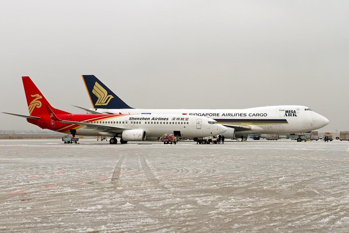 "Re:[原创]【BLDDQ】******踩着冰渣完成和""金牡丹""的有次见面****** BOEING 737-800 B-5390 中国南京禄口机场 中国南京禄口机场"