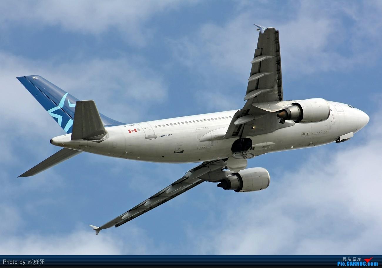 Re:[原创]快过新年了,来自加拿大AIR TRANSAT-A310小胖子! AIRBUS A310-308 C-GSAT Spain MALAGA