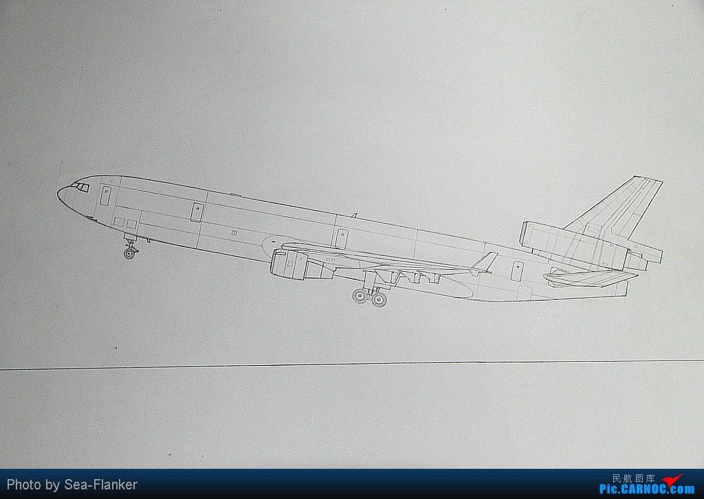 Re:[原创]【NKG】存货发的差不多了,画一架华航343祝大家新年快乐 MCDONNELL DOUGLAS MD-11 B- 中国南京禄口机场
