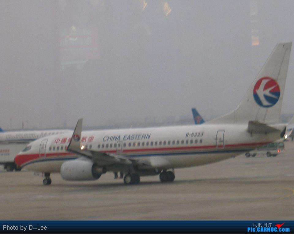 Re:[原创]华东游之回程SHA-CAN by -2567 BOEING 737-700 B-5223 中国上海虹桥机场