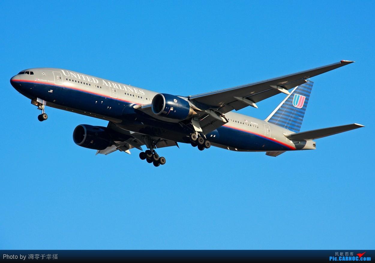 Re:[原创]【BLDDQ】幸福假期就这样过去了。。。。 BOEING 777-200ER N784UA 中国北京首都机场