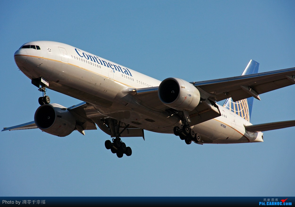 Re:[原创]【BLDDQ】呼啸而来,,泰山压顶!! BOEING 777-224ER N77006 中国北京首都机场