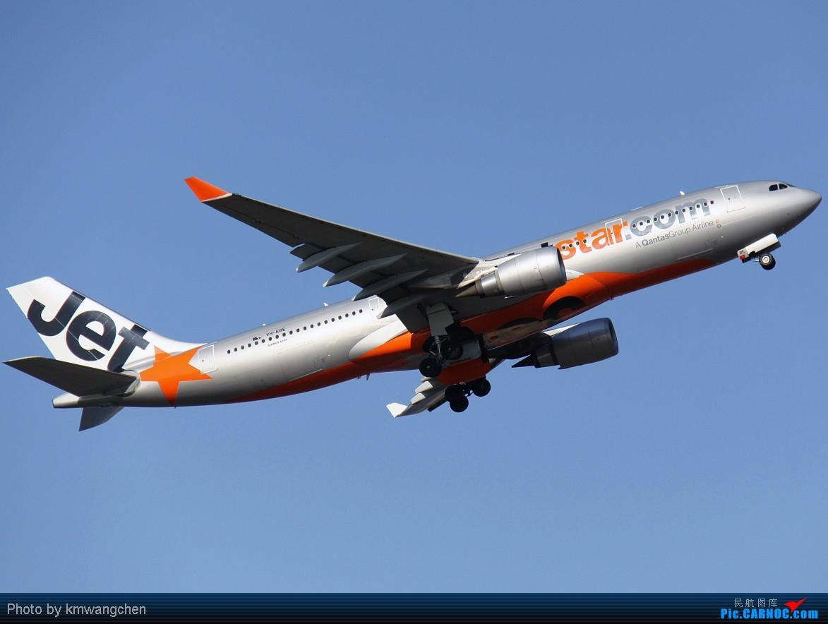 [原创]]【SYDWC】悉尼晴天系列(3)jetstar330.快达747.Polynesian Blue737 AIRBUS A330-202 VH-EBE Australia SYDNEY KINGSFORD