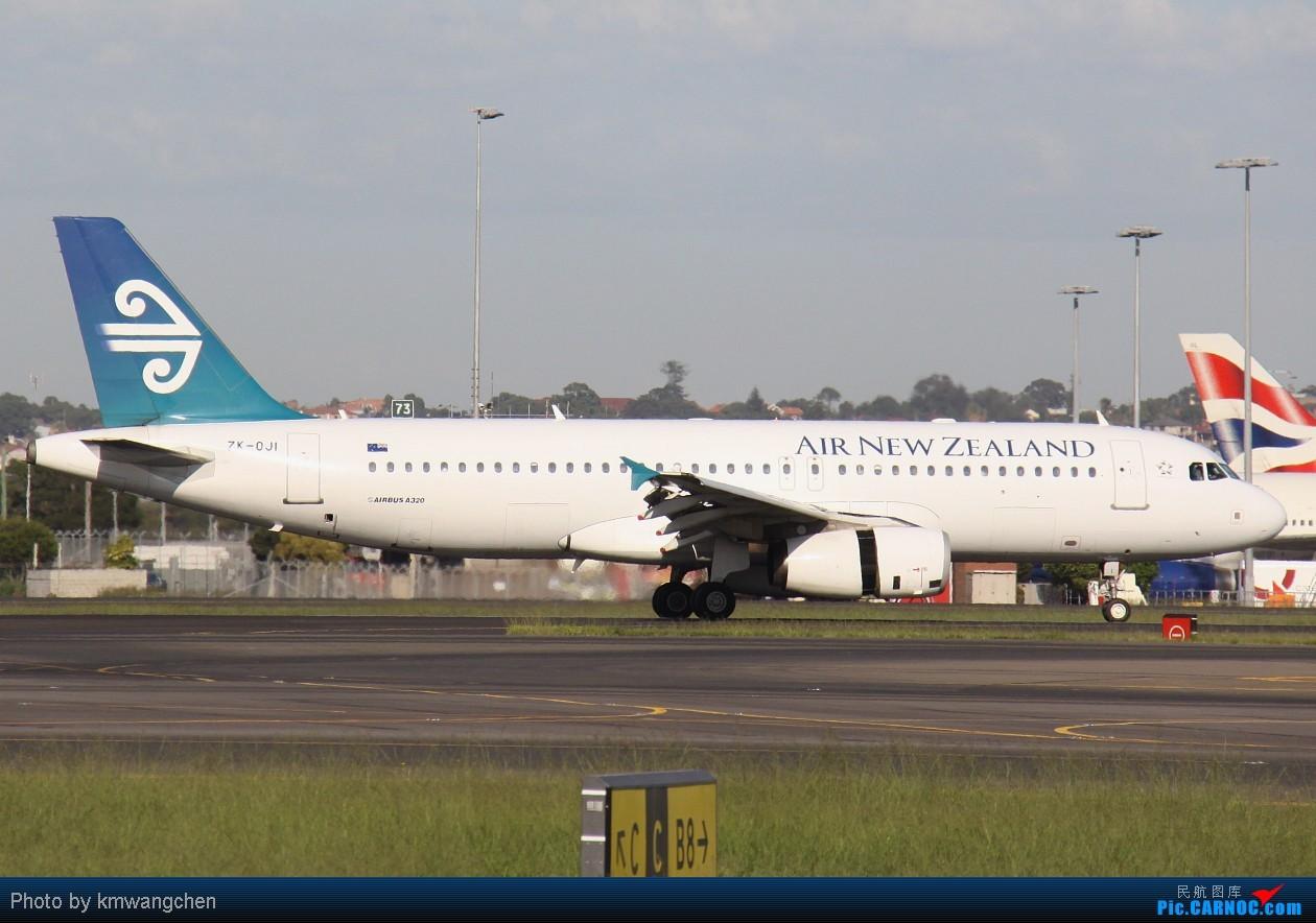 Re:[原创]]【SYDWC】悉尼晴天系列(3)jetstar330.快达747.Polynesian Blue737 AIRBUS A320-232 ZK-OJI Australia SYDNEY KINGSFORD