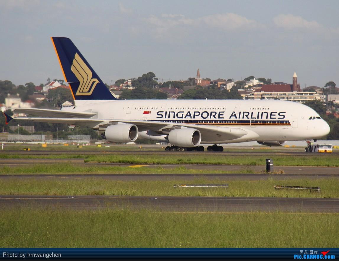 Re:[原创]]【SYDWC】悉尼晴天系列(3)jetstar330.快达747.Polynesian Blue737 AIRBUS A380-841 9V-SKB Australia SYDNEY KINGSFORD