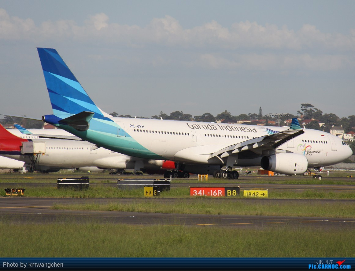 Re:[原创]]【SYDWC】悉尼晴天系列(3)jetstar330.快达747.Polynesian Blue737 AIRBUS A330-243 PK-GPH Australia SYDNEY KINGSFORD