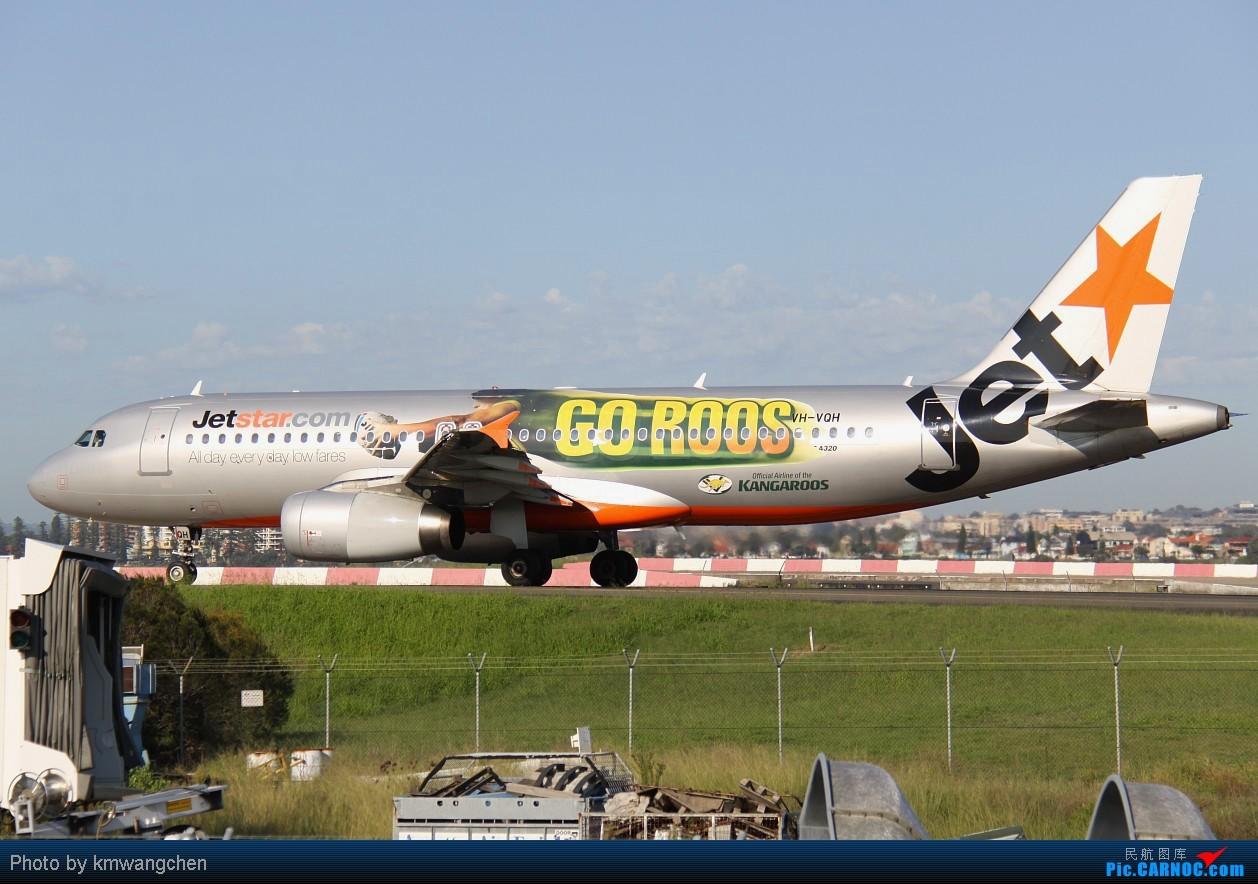 Re:[原创]]【SYDWC】悉尼晴天系列(3)jetstar330.快达747.Polynesian Blue737 AIRBUS A320-232 VH-VQH Australia SYDNEY KINGSFORD