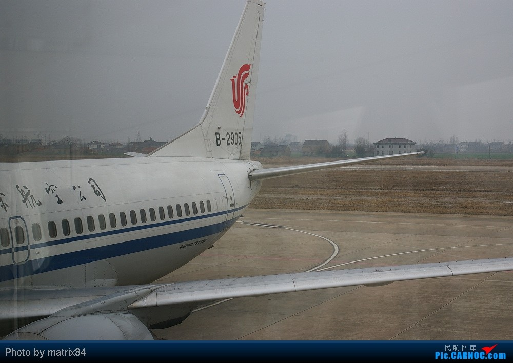 Re:[原创]从家乡起飞,转战PEK,只为体验川航330 YNZ-PEK-CTU BOEING 737-300 B-2905 中国江苏盐城南洋机场