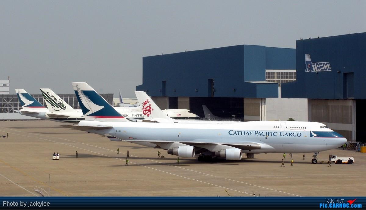 【xmn】太古的生意就是好啊~ boeing 747-412(bcf) b-hkh 中国厦门