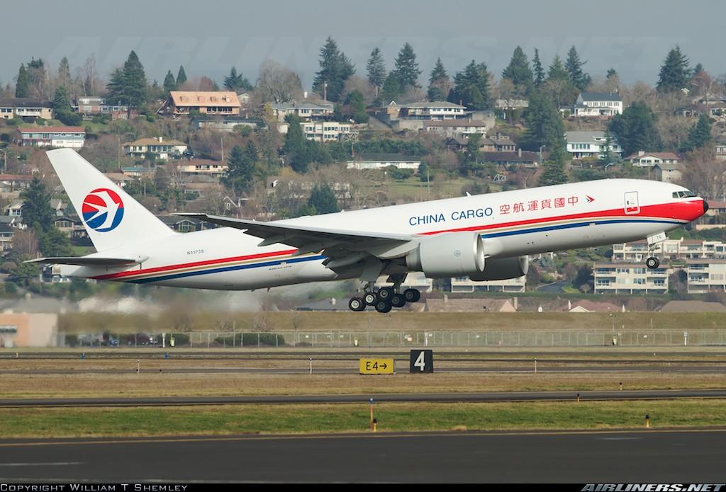 [转贴]中国货运航空Boeing 777-F6N B-2076 BOEING 777-F6N