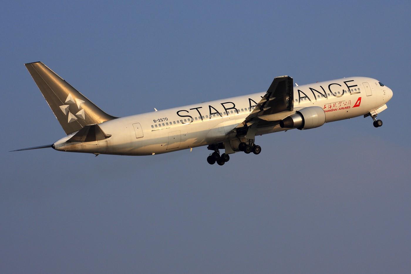 Re:[原创]【 ♠ J 】 旧的不去 新的不来 新跑道启用倒计时 BOEING 767-300 B-2570 中国上海虹桥机场