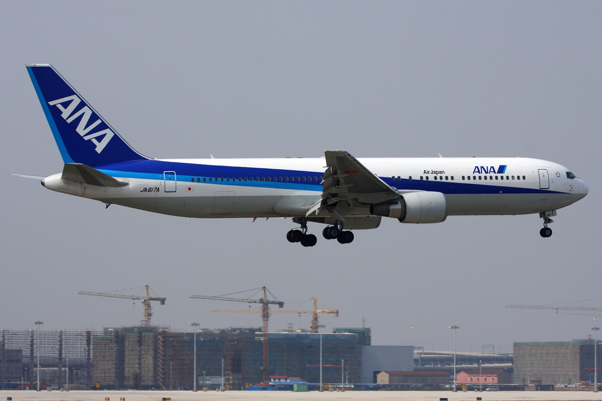 Re:[原创]【 ♠ J 】 旧的不去 新的不来 新跑道启用倒计时 BOEING 767 JA617A 中国上海虹桥机场