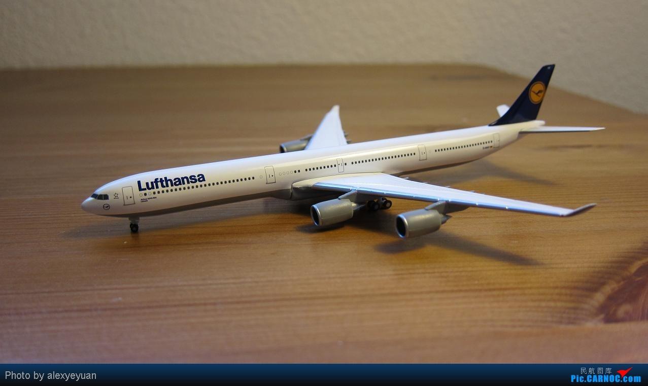 有人收集飞机模型的吧 贴出来大家欣赏下吧 回帖图的奖小飞机哦 AIRBUS A340-600 D-AIHF