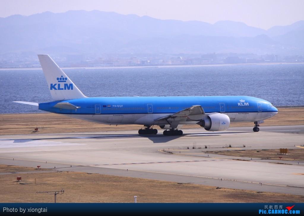 Re:[原创]日本·关西国际空港(KIX/RJBB) BOEING 777-206/ER PH-BQF Japan KANSAI INTL