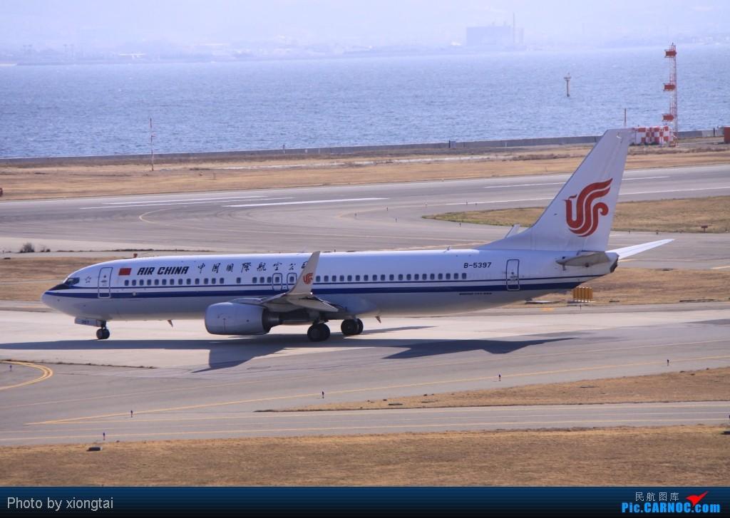 Re:[原创]日本·关西国际空港(KIX/RJBB) BOEING 737-89L B-5397 Japan KANSAI INTL