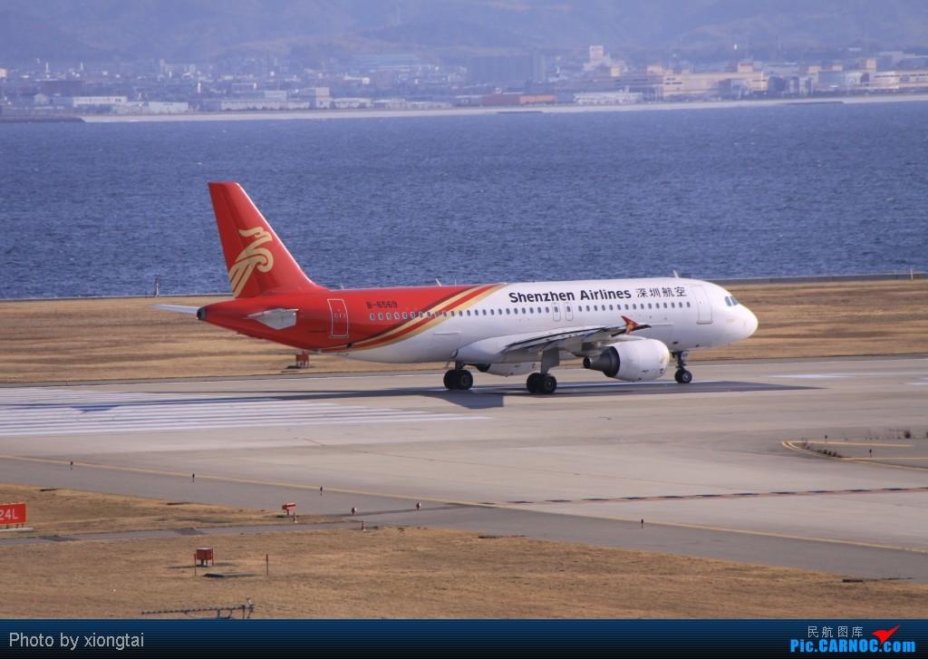 Re:[原创]日本·关西国际空港(KIX/RJBB) AIRBUS A320-214 B-6569 Japan KANSAI INTL