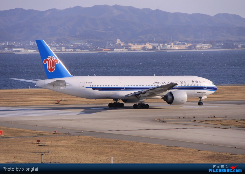 Re:[原创]日本·关西国际空港(KIX/RJBB) BOEING 777-21B/ER B-2057 Japan KANSAI INTL