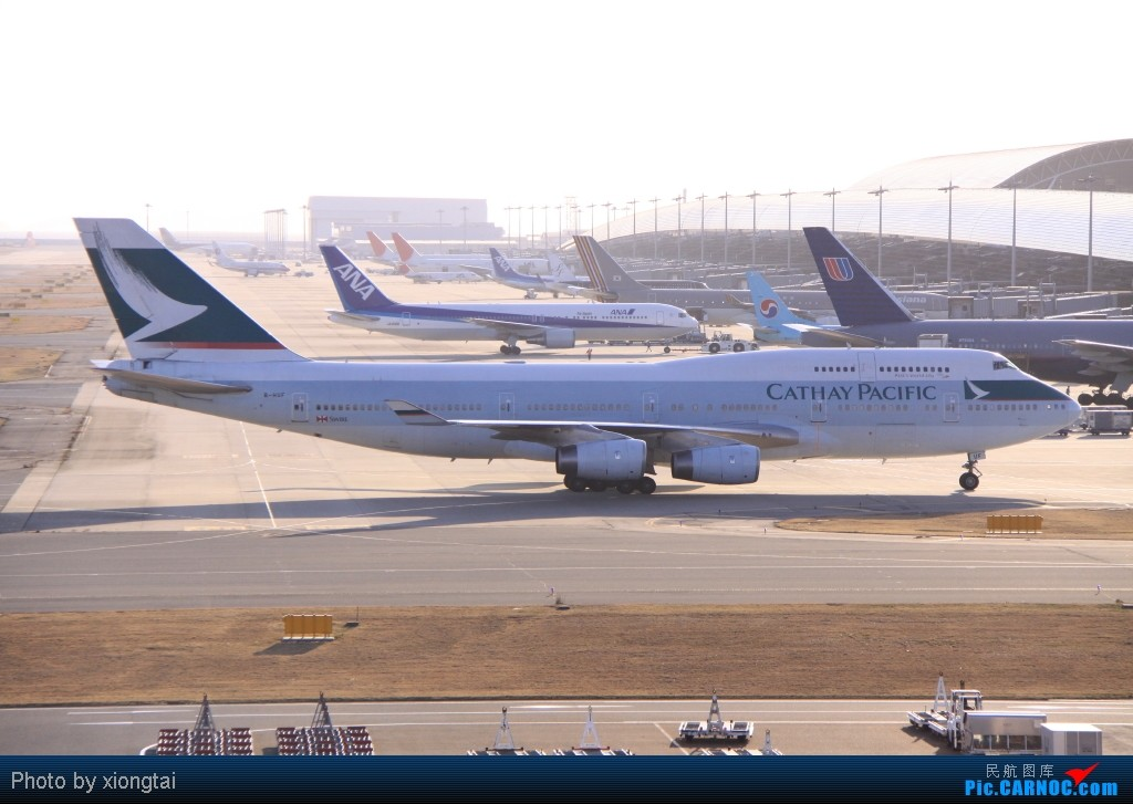 Re:[原创]日本·关西国际空港(KIX/RJBB) BOEING 747-467 B-HUF Japan KANSAI INTL