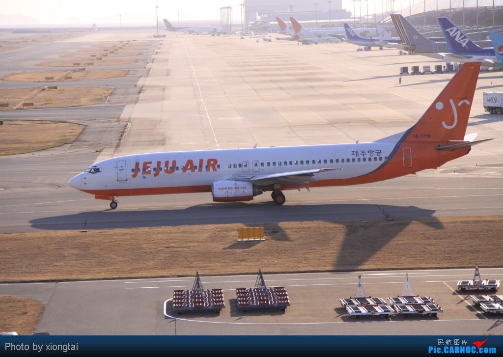 Re:[原创]日本·关西国际空港(KIX/RJBB) BOEING 737-85F HL7779 Japan KANSAI INTL