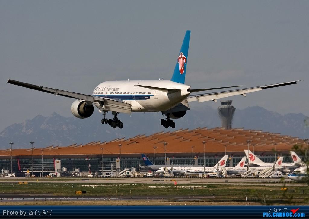 Re:[原创]<绝世痴飞>既然有人喜欢777的震撼,那就让我们一起来震撼一下下! BOEING 777-200 B-2053 中国北京首都机场