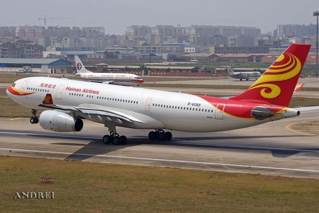 Re:[原创][ANDREI]有朋自远方来——不过这次是要感谢某周的人品! AIRBUS A330-200 B-6089 中国昆明巫家坝机场