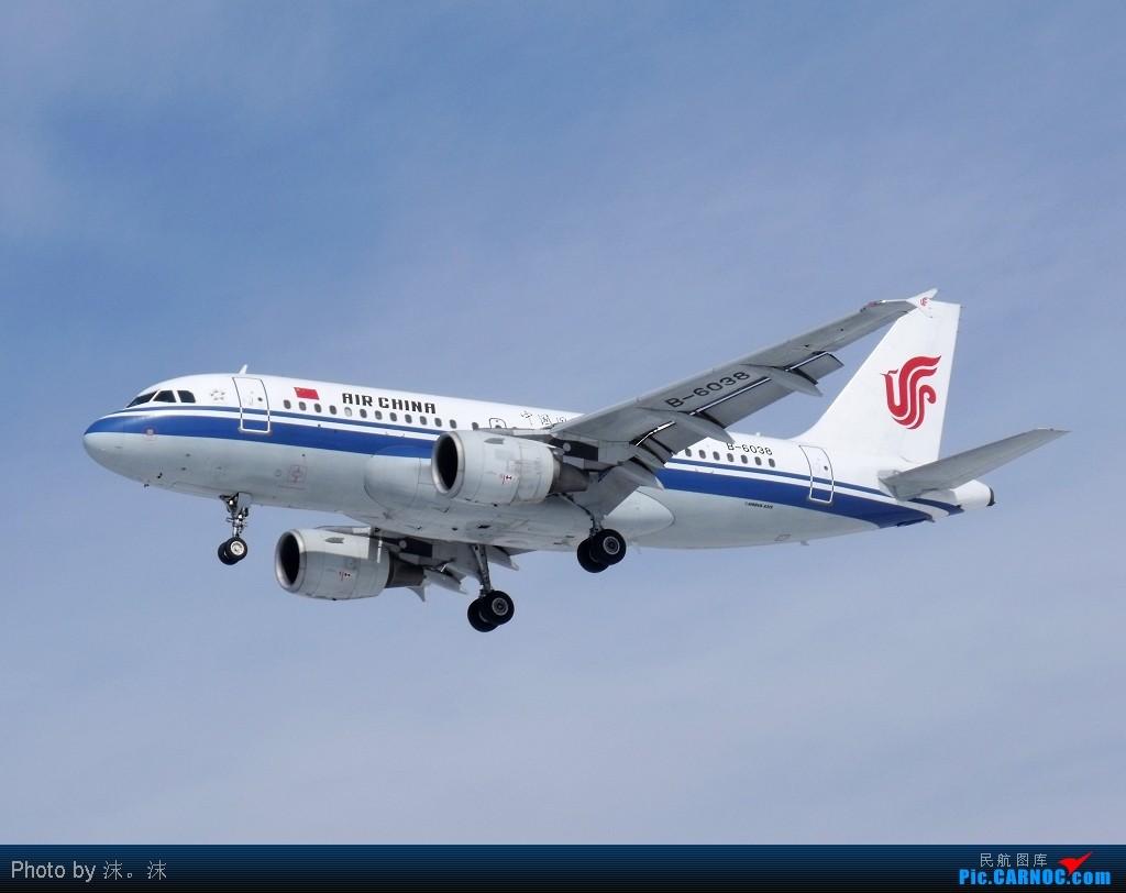 Re:[原创]雪后、蓝天、白云——周末桃仙作业 AIRBUS A319-100 B-6038 中国沈阳桃仙机场