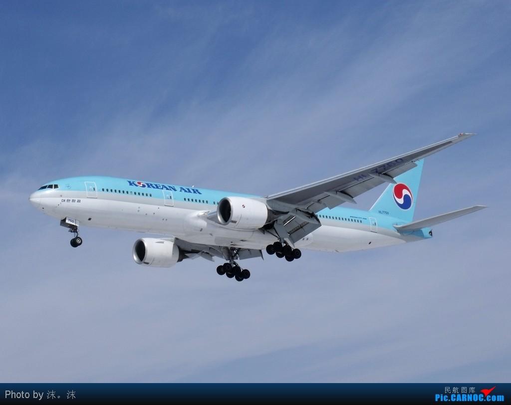 Re:[原创]雪后、蓝天、白云——周末桃仙作业 BOEING 777-200 HL7750 中国沈阳桃仙机场